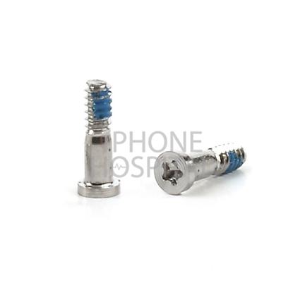 Pentalobe Schrauben-Satz in Silber für iPhone 5 / 5S / 6 / 6 Plus