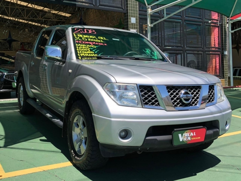 NISSAN FRONTIER 2.5 SEL 4X4 CD TURBO ELETRONIC DIESEL 4P MANUAL