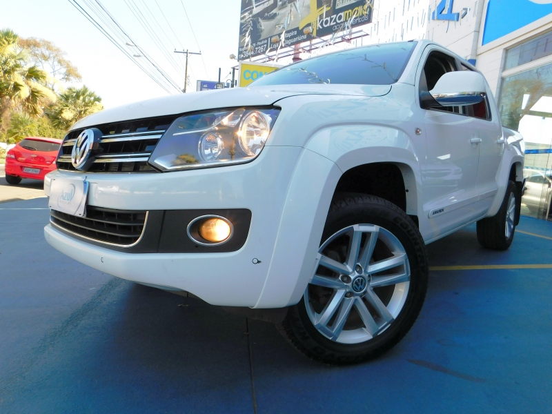 AMAROK2.0 HIGHLINE 4X4 CD 16V TURBO INTERCOOLER DIESEL 4P AUTOMÁTICO