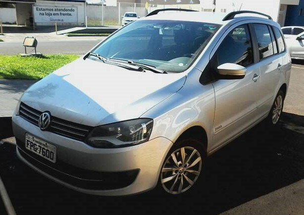 VOLKSWAGEN SPACEFOX 1.6 MI TREND 8V FLEX 4P MANUAL