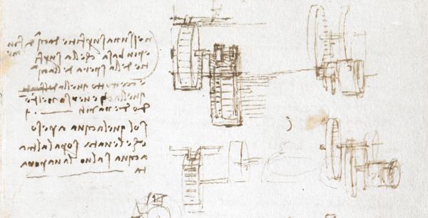 sample diary entry from Leonardo da Vinci