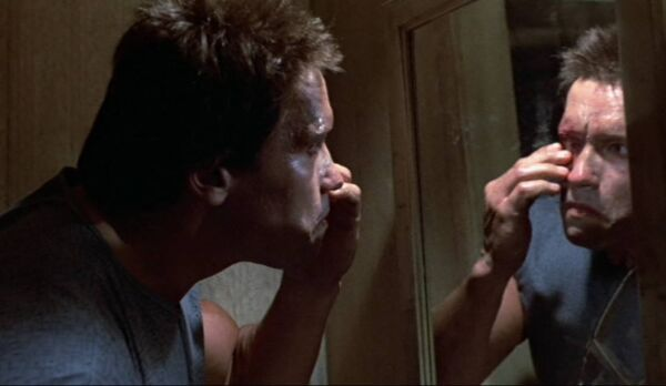 terminator self-aware mirror test