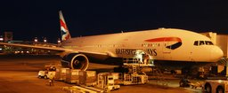 G-YMMF British Airways 777 at DIA