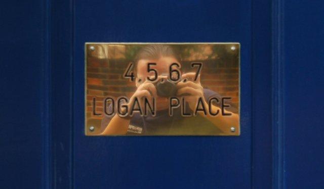 Jaeger photographs Logan Place