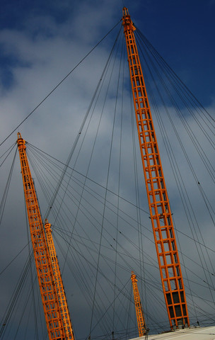 Tent spires, the O2