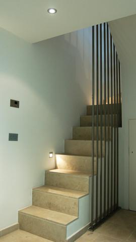 Kings Mews house stair