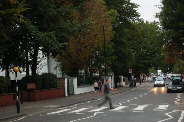 Jaeger crosses Abbey Road
