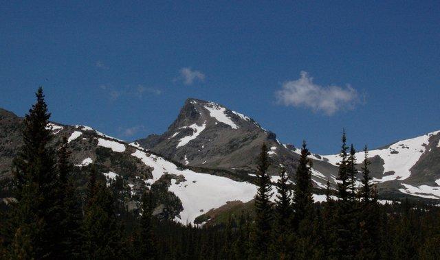 Sawtooth Mountain and Buchanan Pass
