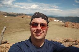 Jaeger self-portrait, McCurdy Mountain