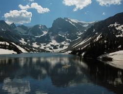 Lake Isabelle and Shoshoni Peak, Indian Peaks Wilderness