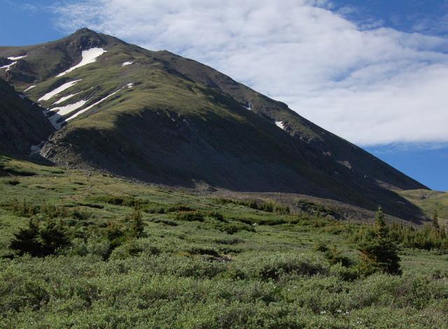 Mount Belford from Missouri Gulch