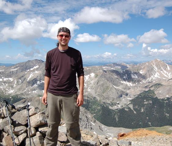 Jaeger on Missouri Mountain