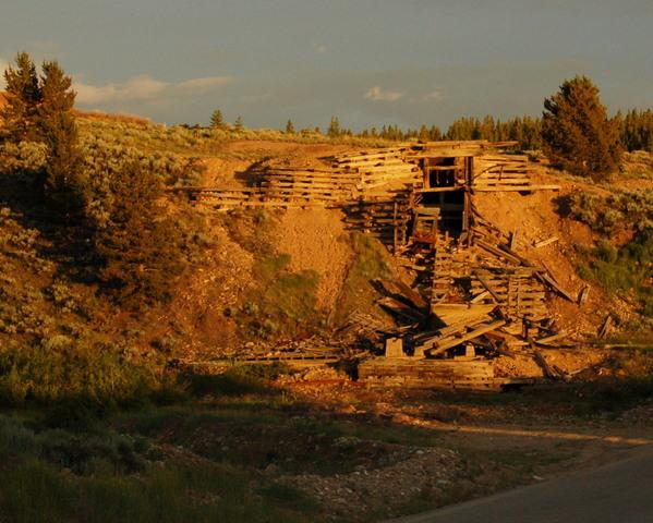 Old mine shaft enterance, Leadville, Colorado