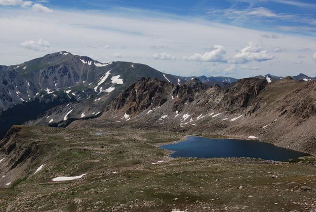 Bear Lake and Mount Yale, Collegiate Peaks Wilderness