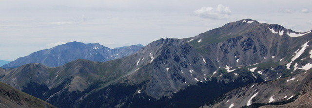 Mount Princeton and Mount Yale, Collegiate Peaks Wilderness