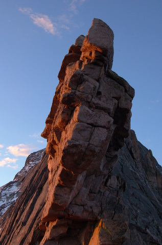 First light on the Keyhole