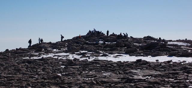 Summit of Longs Peak