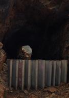 Northern opening of the Needle Eye Tunnel