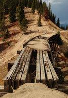 Railroad trestle at Riflesight Notch