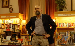 Neal Stephenson at the Boulder Bookstore