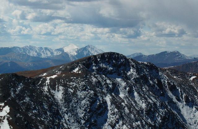Torreys Peak, Grays Peak, and Mount Bancroft