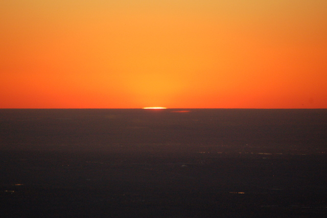 Sunrise from Green Mountain