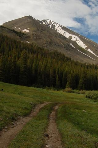 Torreys Peak from Grizzly Gulch