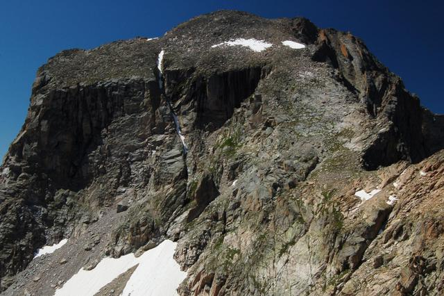 North face and north slope of Mount Alice