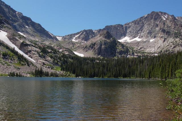 Thunder Lake and Boulder-Grand Pass