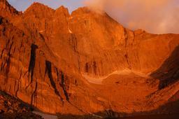 East Face of Longs Peak at dawn