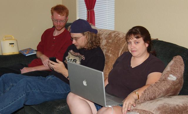 Humblik, Yanthor, and Anya at Megafest 8.1