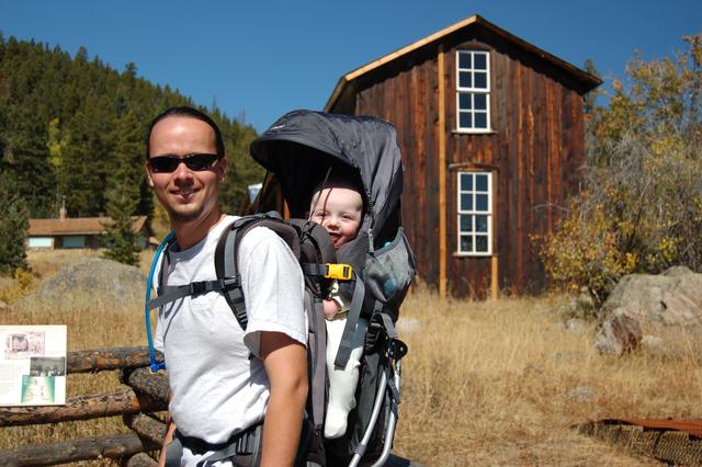 Calvin and Jaeger at the Blue Bird Mine