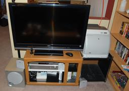 The old entertainment cabinet