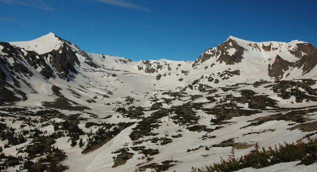 Mount Jasper and Mount Neva