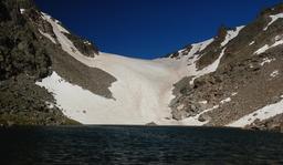 Andrews Tarn and Andrews Glacier