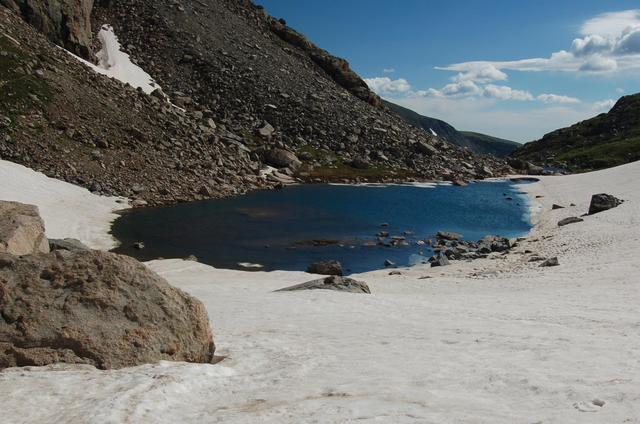 Tarn above Lake Isabelle