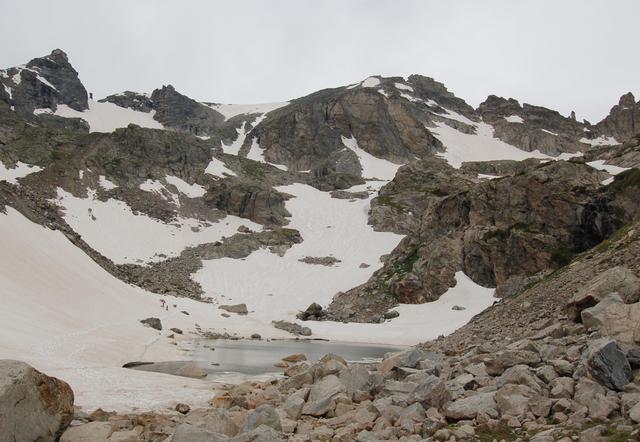 Navajo Peak and Apache Peak