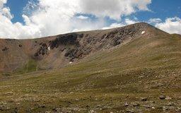 Mount Elbert's north and east ridges
