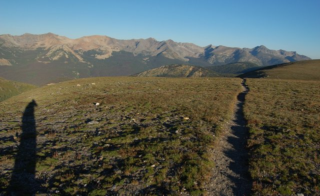 Mount Ida Trail and Never Summer Mountains