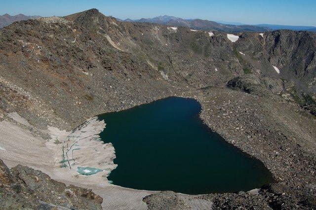 Mount Ida and Highest Lake