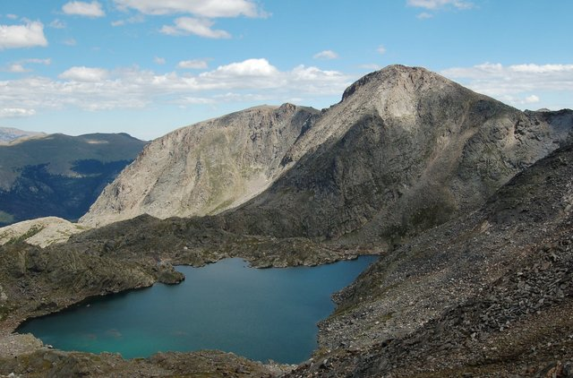 Mount Julian and Inkwell Lake