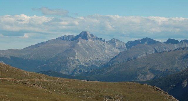 Longs Peak and Trail Ridge Road