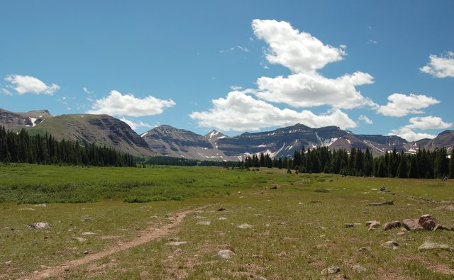 Kings Peak and Henrys Fork Basin
