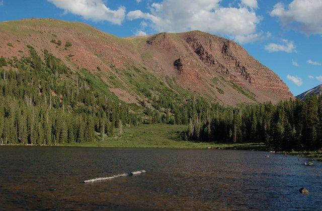 Dollar Lake and Gunsight Peak
