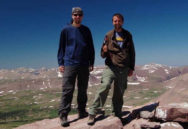 Jaeger and Willy on Kings Peak