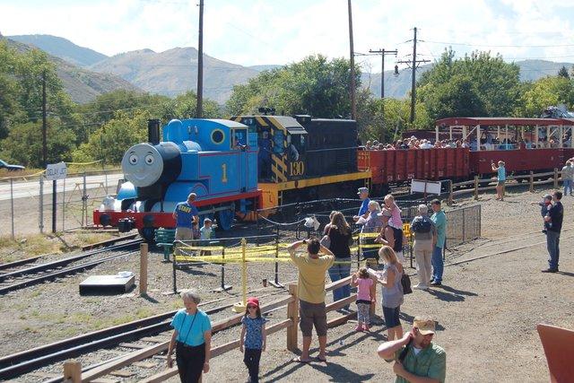 Thomas the Tank Engine excursion train