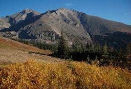 Longs Peak and Mount Meeker from North Ridge