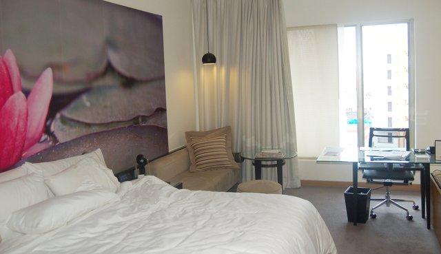 Hotel room in Hyderabad