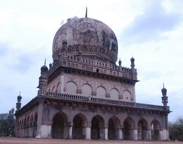One of the Qutb Shahi tombs