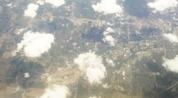 Lincoln, Nebraska, as seen from the air